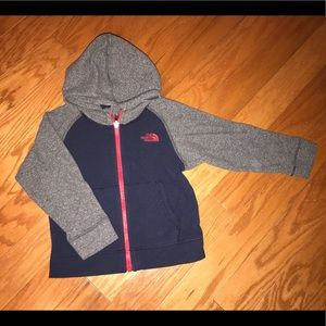 The north face kids boy's fleece jacket size 3t